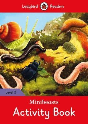 Minibeasts Activity Book - Ladybird Readers Level 3 - pr_60353