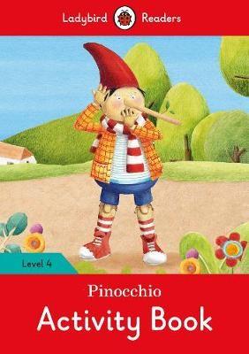 Pinocchio Activity Book - Ladybird Readers Level 4 - pr_60343
