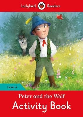 Peter and the Wolf Activity Book - Ladybird Readers Level 4 - pr_60344