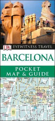 DK Eyewitness Barcelona Pocket Map and Guide - pr_120369