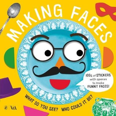 Making Faces: A Sticker Book -