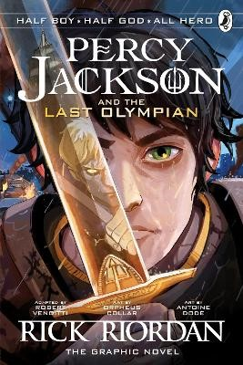 The Last Olympian: The Graphic Novel (Percy Jackson Book 5) -