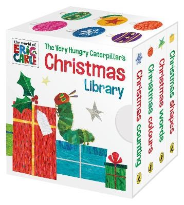 The Very Hungry Caterpillar's Christmas Library -