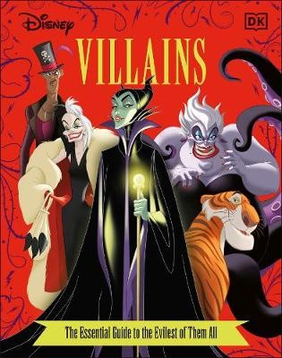 Disney Villains The Essential Guide New Edition -