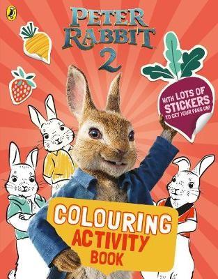 Peter Rabbit Movie 2 Colouring Sticker Activity -