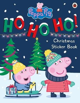 Peppa Pig: Ho Ho Ho! Christmas Sticker Book - pr_1840986