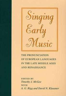 Singing Early Music -