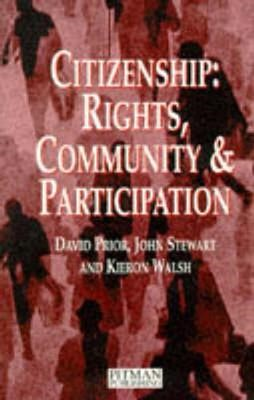 Citizenship: Rights, Community and Participation - pr_17530