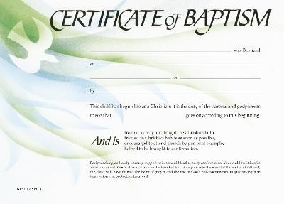 Certificate of Baptism - pr_209481