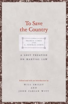 To Save the Country -