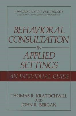 Behavioral Consultation in Applied Settings - pr_39240