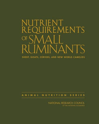 Nutrient Requirements of Small Ruminants -