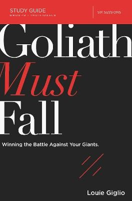 Goliath Must Fall Study Guide -