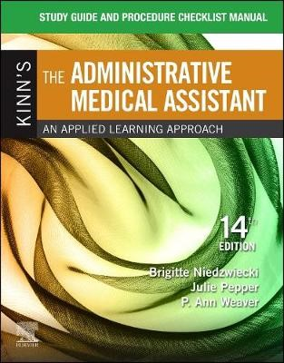 Study Guide for Kinn's The Administrative Medical Assistant - pr_1728183