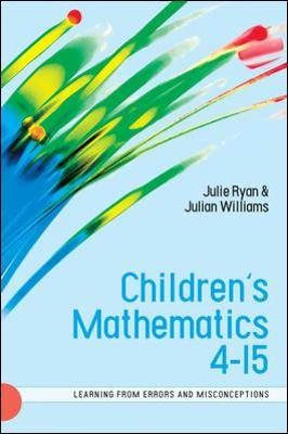 Children's Mathematics 4-15: Learning from Errors and Misconceptions - pr_70879