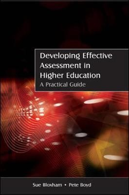 Developing Effective Assessment in Higher Education: A Practical Guide - pr_70959