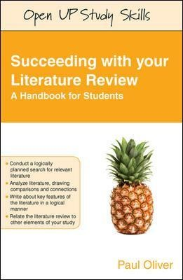 Succeeding with your Literature Review: A Handbook for Students - pr_70920
