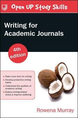 Writing for Academic Journals 4e -