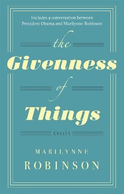 The Givenness Of Things - pr_121555