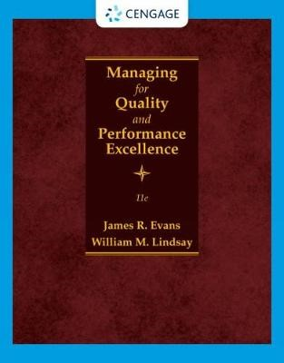 Managing for Quality and Performance Excellence -