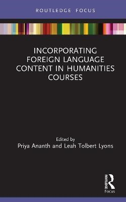 Incorporating Foreign Language Content in Humanities Courses - pr_307269
