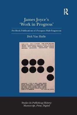 James Joyce's 'Work in Progress' - pr_289151