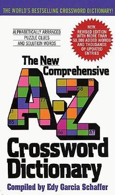 New Comprehensive A-Z Crossword Dictionary - pr_282370