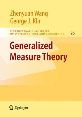 Generalized Measure Theory - pr_1751992