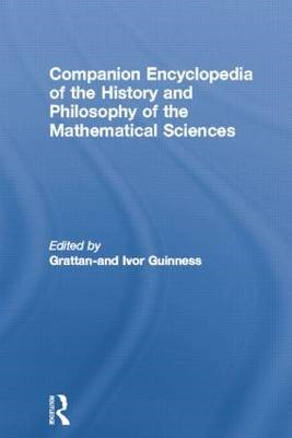 Companion Encyclopedia of the History and Philosophy of the Mathematical Sciences - pr_1751950