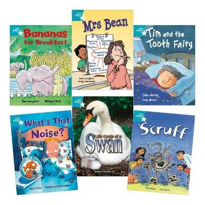 Learn at Home:Star Reading Turquoise Level Pack (5 fiction and 1 non-fiction book) - pr_17763