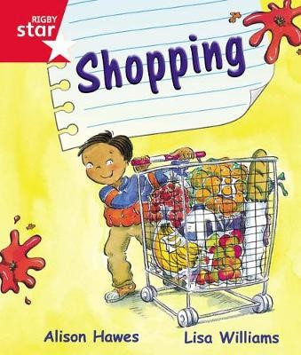 Rigby Star Guided Reception Red Level: Shopping Pupil Book (single) - pr_47858