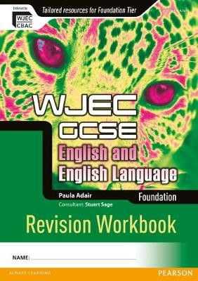 WJEC GCSE English and English Language Foundation Revision Workbook - pr_215769
