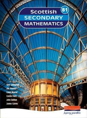 Scottish Secondary Maths Blue 1 Student Book - pr_17520