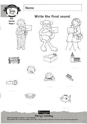 Literacy Edition Storyworlds Stage 6, Animal World, Workbook - pr_248955