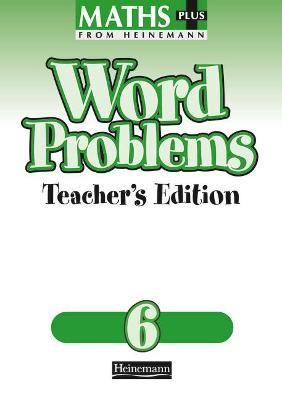 Maths Plus Word Problems 6: Teacher's Book - pr_17495