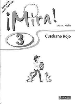 Mira 3 Rojo Workbook (Pack of 8) -