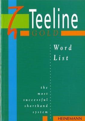 Teeline Gold Word List -