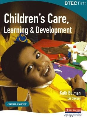 BTEC First Children's Care, Learning and Development student book - pr_17670