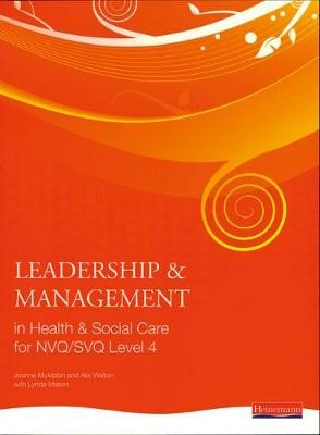 Leadership and Management in Health and Social Care NVQ Level 4 - pr_17590
