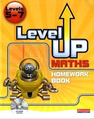 Level Up Maths: Homework Book (Level 5-7) - pr_17533
