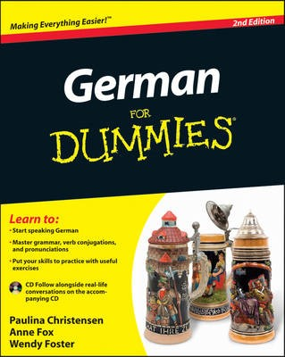 German For Dummies: (with CD) -