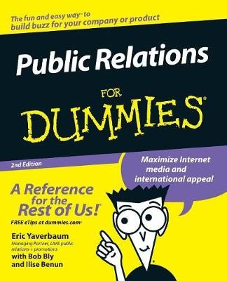 Public Relations For Dummies - pr_101882