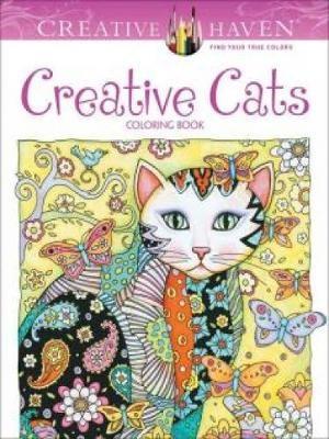 Creative Haven Creative Cats Coloring Book -
