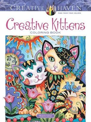 Creative Haven Creative Kittens Coloring Book -