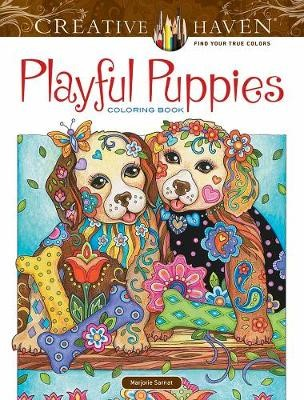 Creative Haven Playful Puppies Coloring Book (working title) -