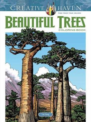 Creative Haven Beautiful Trees Coloring Book -