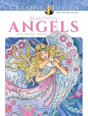 Creative Haven Beautiful Angels Coloring Book -