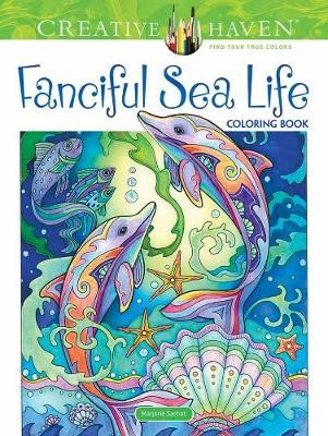 Creative Haven Fanciful Sea Life Coloring Book -