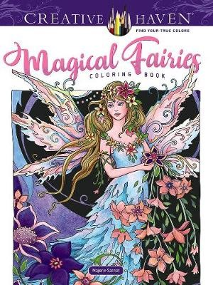 Creative Haven Magical Fairies Coloring Book -