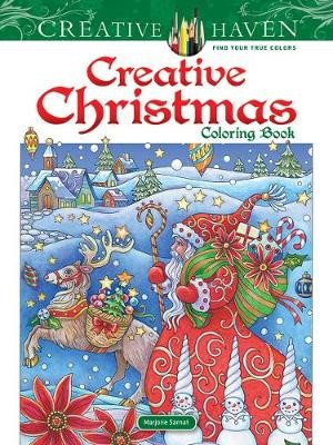 Creative Haven Creative Christmas Coloring Book -